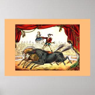Póster O ato 1874 do Dois-Cavalo