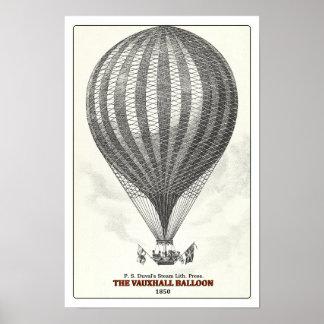Póster O balão de Vauxhall