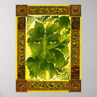 Poster o homem verde