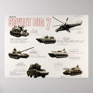 Poster Os 7 grandes soviéticos