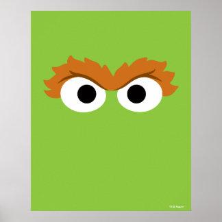 Poster Oscar a cara grande do Grouch