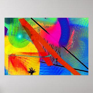 Poster ou impressão da arte abstracta