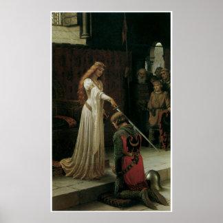 Poster ou impressão das belas artes de Leighton