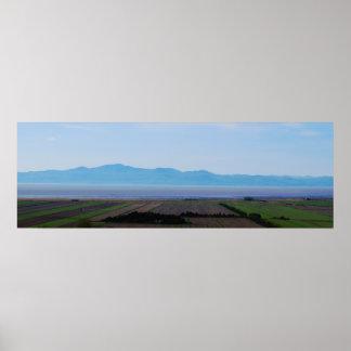 Poster panorâmico profundo da paisagem pôster