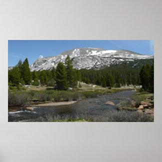 Poster Parque alto do córrego II Yosemite da montanha do