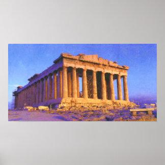 Póster Partenon