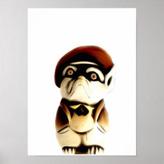 Poster pequeno de Frenchie