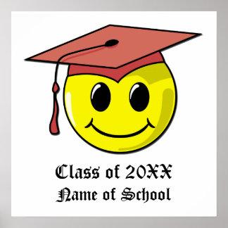 Poster personalizado da graduação