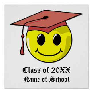 Poster personalizado da graduação pôster