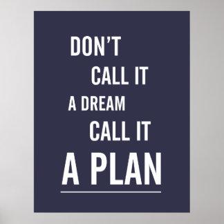 Póster Poster: Chame-o um plano (o marinho)