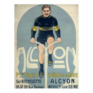 Poster que descreve Francois Faber Cartão Postal