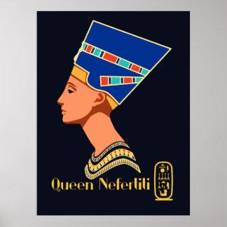 Póster Rainha Nefertiti