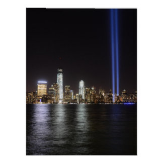 Poster Relembrança do World Trade Center