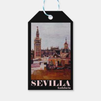 Poster retro Sevilha Giralda Andalucia