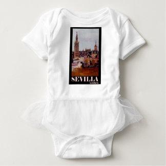 Poster retro Sevilha Giralda Andalucia T-shirt