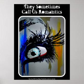 Poster romântico