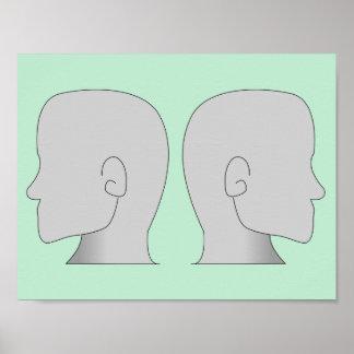 Poster sem cara dos homens