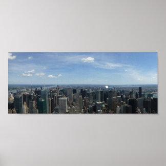 Poster Skyline de Manhattan
