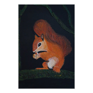Póster squirrel