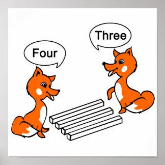 Poster Truque da ilusão óptica do Fox