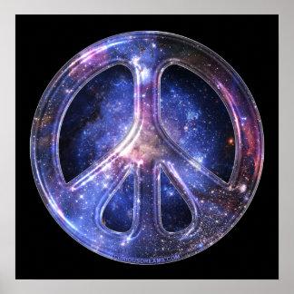 Poster universal da paz
