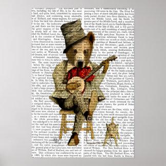 Poster Urso do banjo