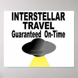 Poster Viagem interestelar garantido no tempo