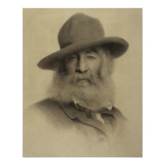 Póster Walt Whitman: O bom poeta cinzento