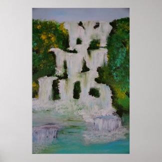 Póster waterfall