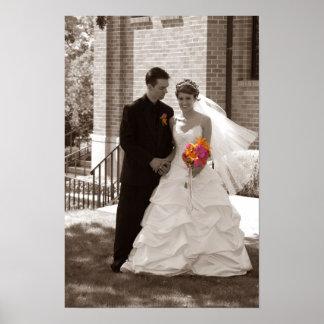 Posters de Casamento
