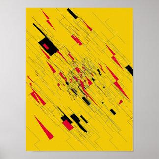 Poster 'Z da arte abstracta
