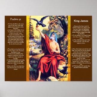 Posters 10 do capítulo 91 dos salmos poster