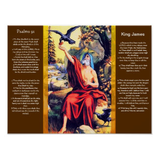 Posters 10 do capítulo 91 dos salmos pôster