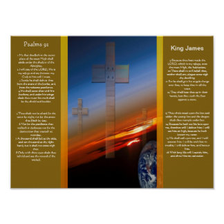 Posters 1 do capítulo 91 dos salmos poster