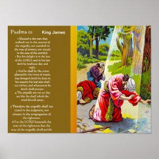 Posters 2 do capítulo 01 dos salmos