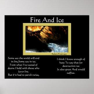 Posters 2 do dragão do fogo e do gelo