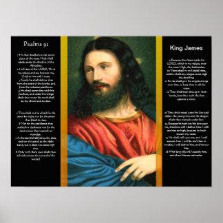 Posters 3 do capítulo 91 dos salmos