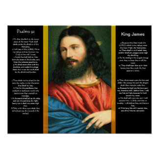 Posters 3 do capítulo 91 dos salmos pôster