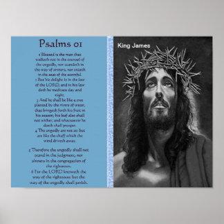 Posters 4 do capítulo 01 dos salmos