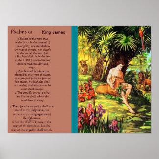 Posters 5 do capítulo 01 dos salmos poster