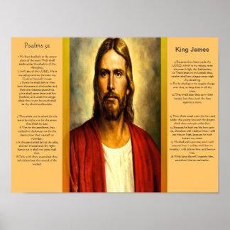 Posters 5 do capítulo 91 dos salmos poster