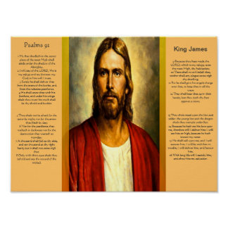 Posters 5 do capítulo 91 dos salmos pôster