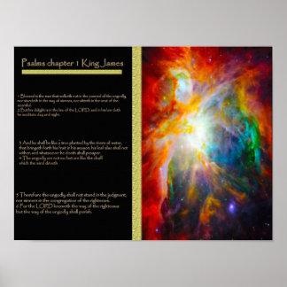 Posters 6 do capítulo 01 dos salmos