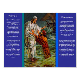 Posters 6 do capítulo 91 dos salmos poster