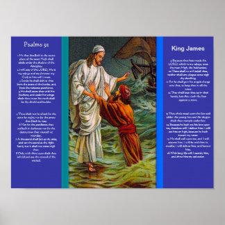 Posters 6 do capítulo 91 dos salmos pôster