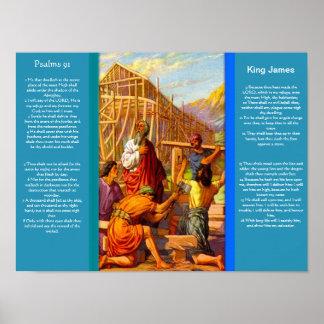 Posters 7 do capítulo 91 dos salmos poster