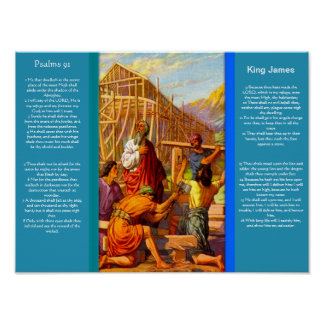 Posters 7 do capítulo 91 dos salmos pôster