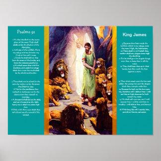 Posters 9 do capítulo 91 dos salmos