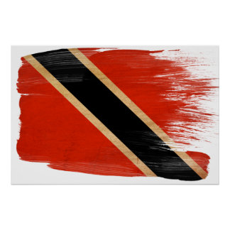 Posters da bandeira de Trinidad and Tobago Pôster