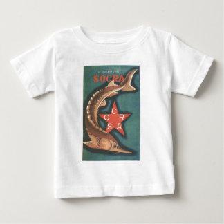 Posters da propaganda de União Soviética da guerra Tshirt